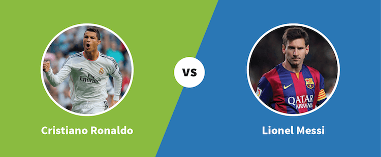 Ronaldo vs. Messi - Paylab blog