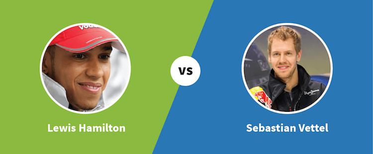 Lewis Hamilton vs. Sebastian Vettel - Paylab blog